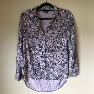Rock and Republic Patterned Long Sleeves Shirt